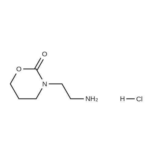3-(2-Aminoethyl)-1,3-oxazinan-2-one hydrochloride