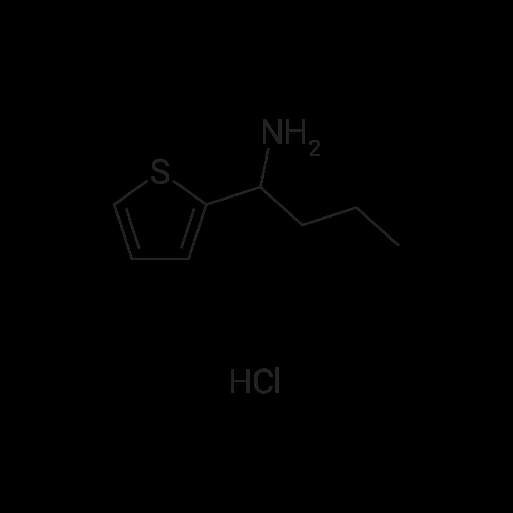 1-(Thiophen-2-yl)butan-1-amine hydrochloride