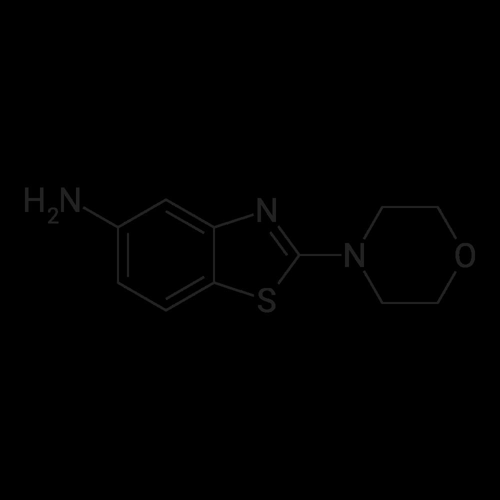 2-Morpholinobenzo[d]thiazol-5-amine