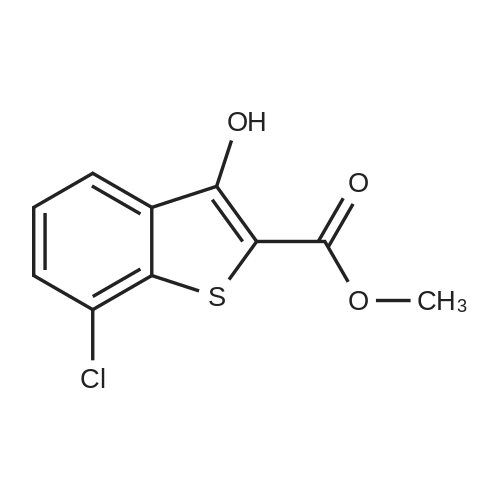 Methyl 7-chloro-3-hydroxybenzo[b]thiophene-2-carboxylate
