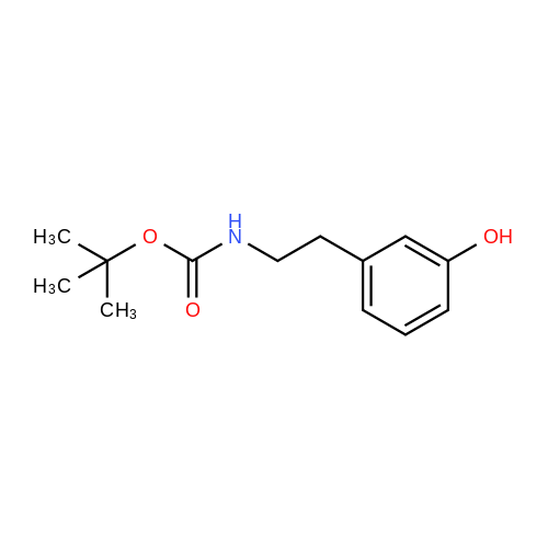 tert-Butyl 3-hydroxyphenethylcarbamate