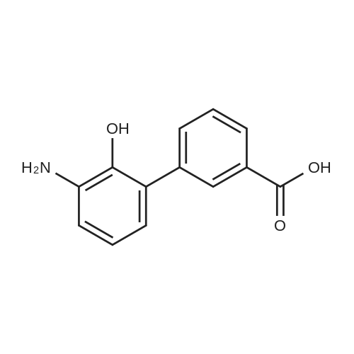 3'-Amino-2'-hydroxy-[1,1'-biphenyl]-3-carboxylic acid