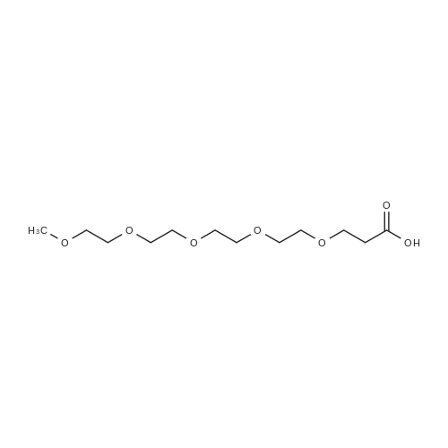 2,5,8,11,14-Pentaoxaheptadecan-17-oic acid