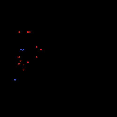 (2S,5S)-5-Amino-7-carboxy-1-hydroxy-4-oxo-3-(palmitoyloxy)heptan-2-yl (2-(trimethylammonio)ethyl) phosphate