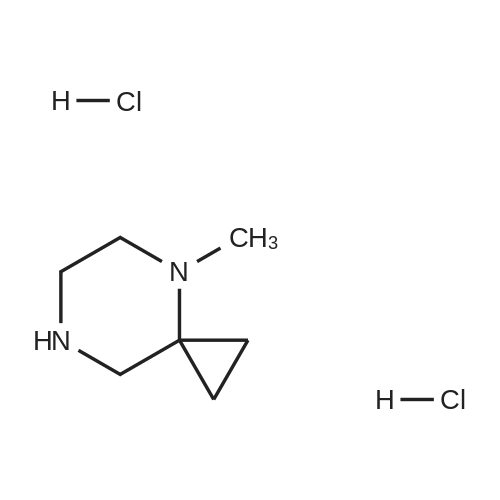 4-Methyl-4,7-diazaspiro[2.5]octane dihydrochloride