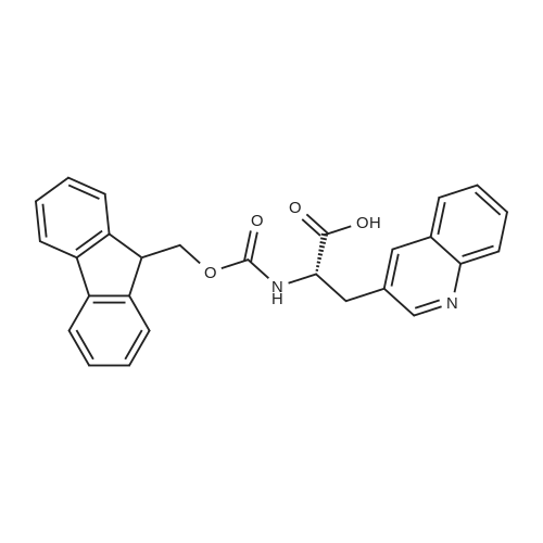 (2S)-2-([(9H-FLUOREN-9-YLMETHOXY)CARBONYL]AMINO)-3-(QUINOLIN-3-YL)PROPANOIC ACID