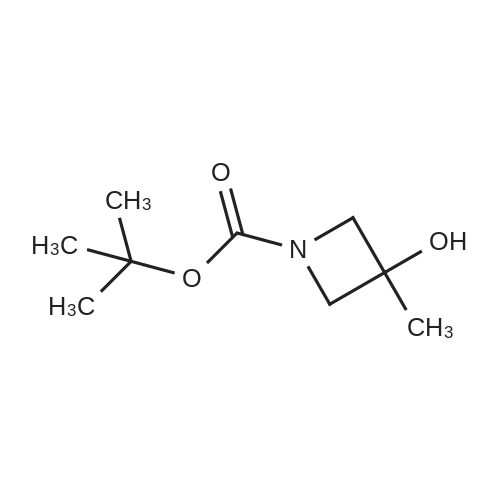 tert-Butyl 3-hydroxy-3-methylazetidine-1-carboxylate