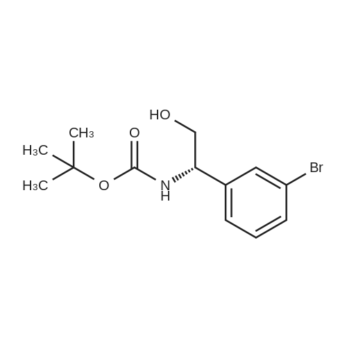 (S)-tert-Butyl (1-(3-bromophenyl)-2-hydroxyethyl)carbamate