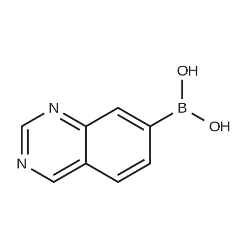 Quinazolin-7-ylboronic acid