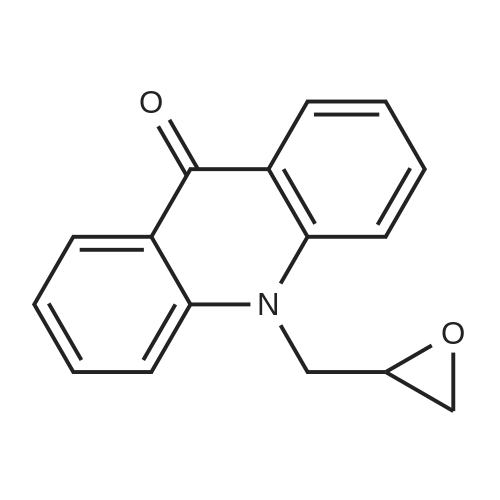 10-(Oxiran-2-ylmethyl)acridin-9(10H)-one