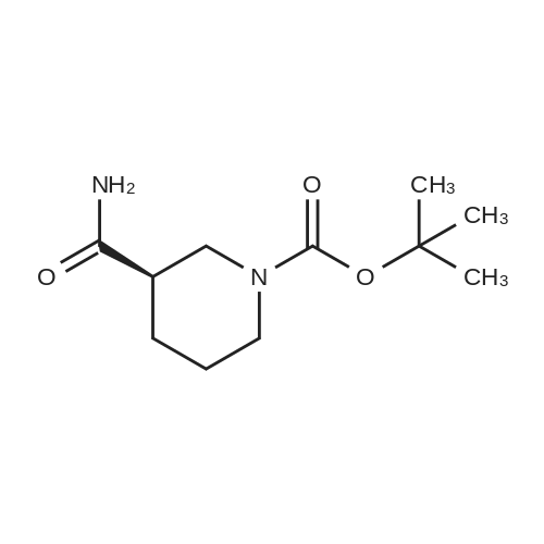 (R)-tert-Butyl 3-carbamoylpiperidine-1-carboxylate