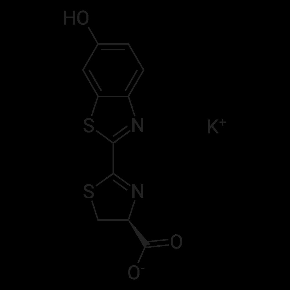 Potassium (S)-2-(6-hydroxybenzo[d]thiazol-2-yl)-4,5-dihydrothiazole-4-carboxylate