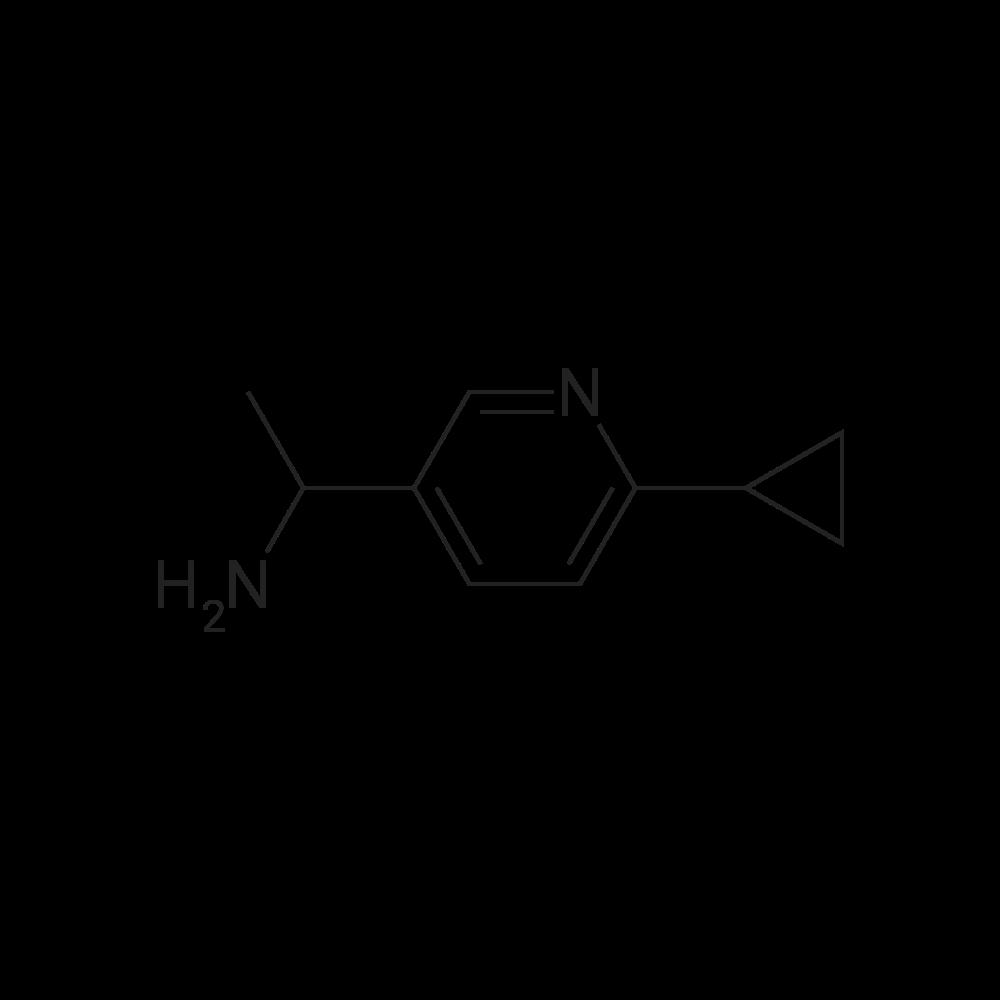 1-(6-Cyclopropylpyridin-3-yl)ethanamine