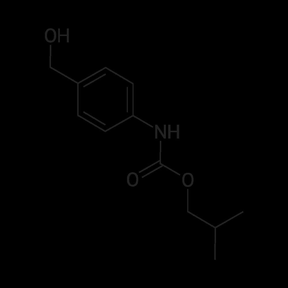 Isobutyl (4-(hydroxymethyl)phenyl)carbamate