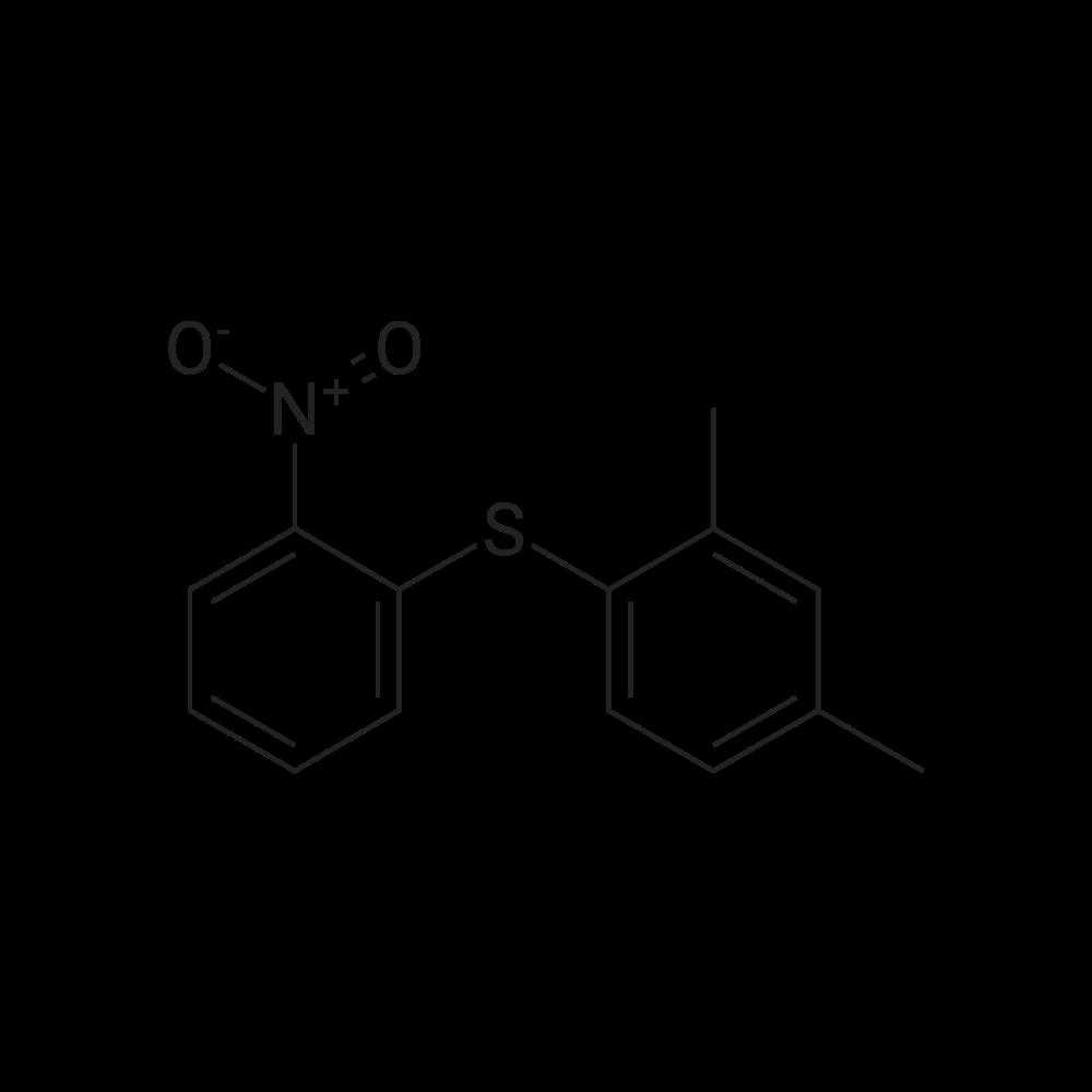 (2,4-Dimethylphenyl)(2-nitrophenyl)sulfane