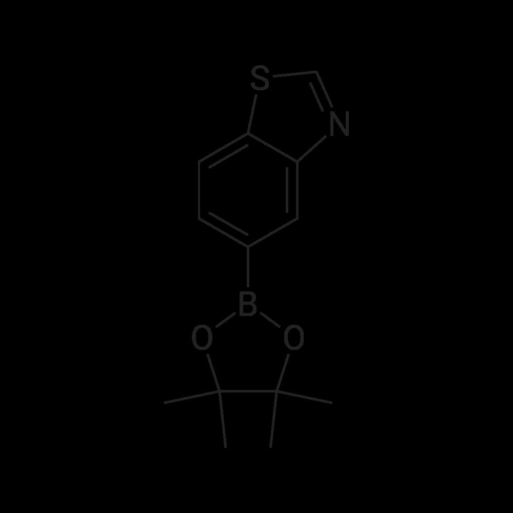 5-(4,4,5,5-Tetramethyl-1,3,2-dioxaborolan-2-yl)benzo[d]thiazole