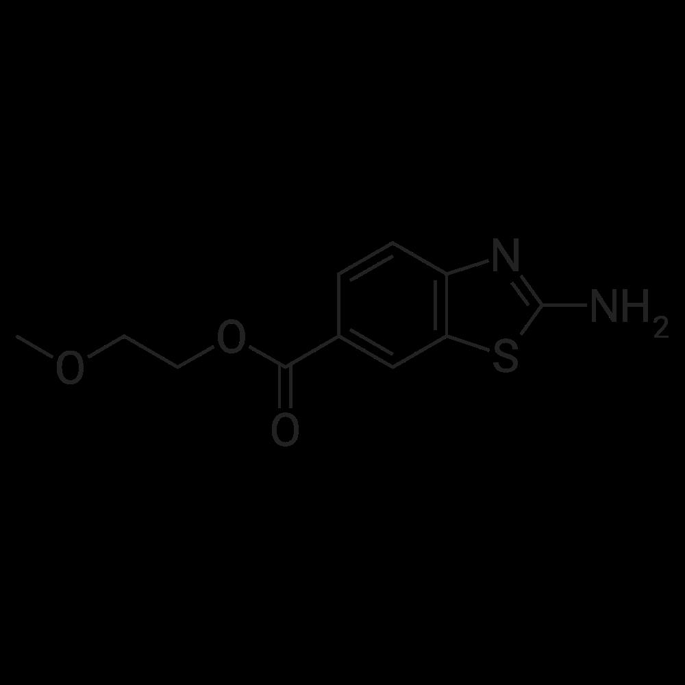 2-Methoxyethyl 2-aminobenzo[d]thiazole-6-carboxylate