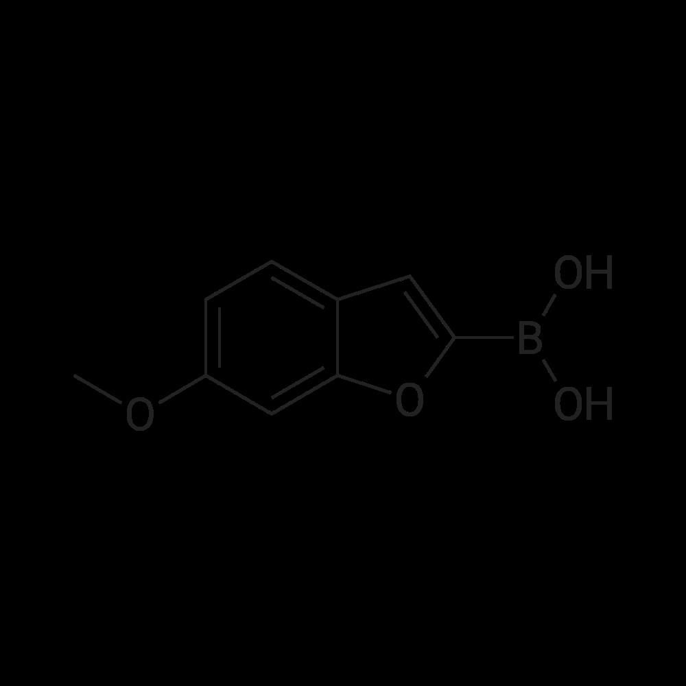 (6-Methoxybenzofuran-2-yl)boronic acid