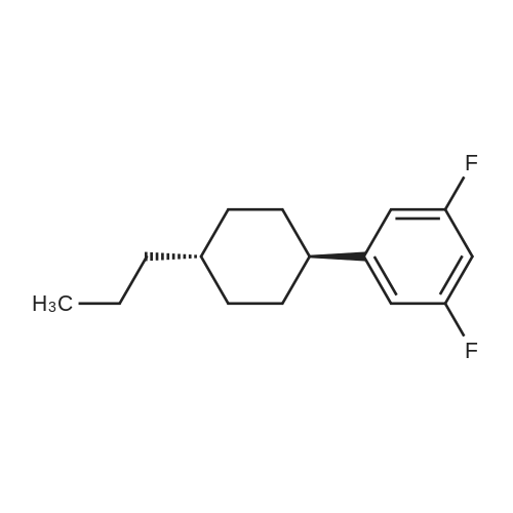 1,3-Difluoro-5-(trans-4-propylcyclohexyl)benzene
